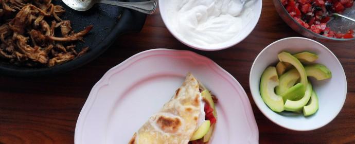 Pulled pork poprvé: Tacos s rajčatovou salsou