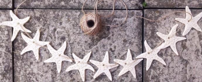 Girlanda z mořských hvězdic