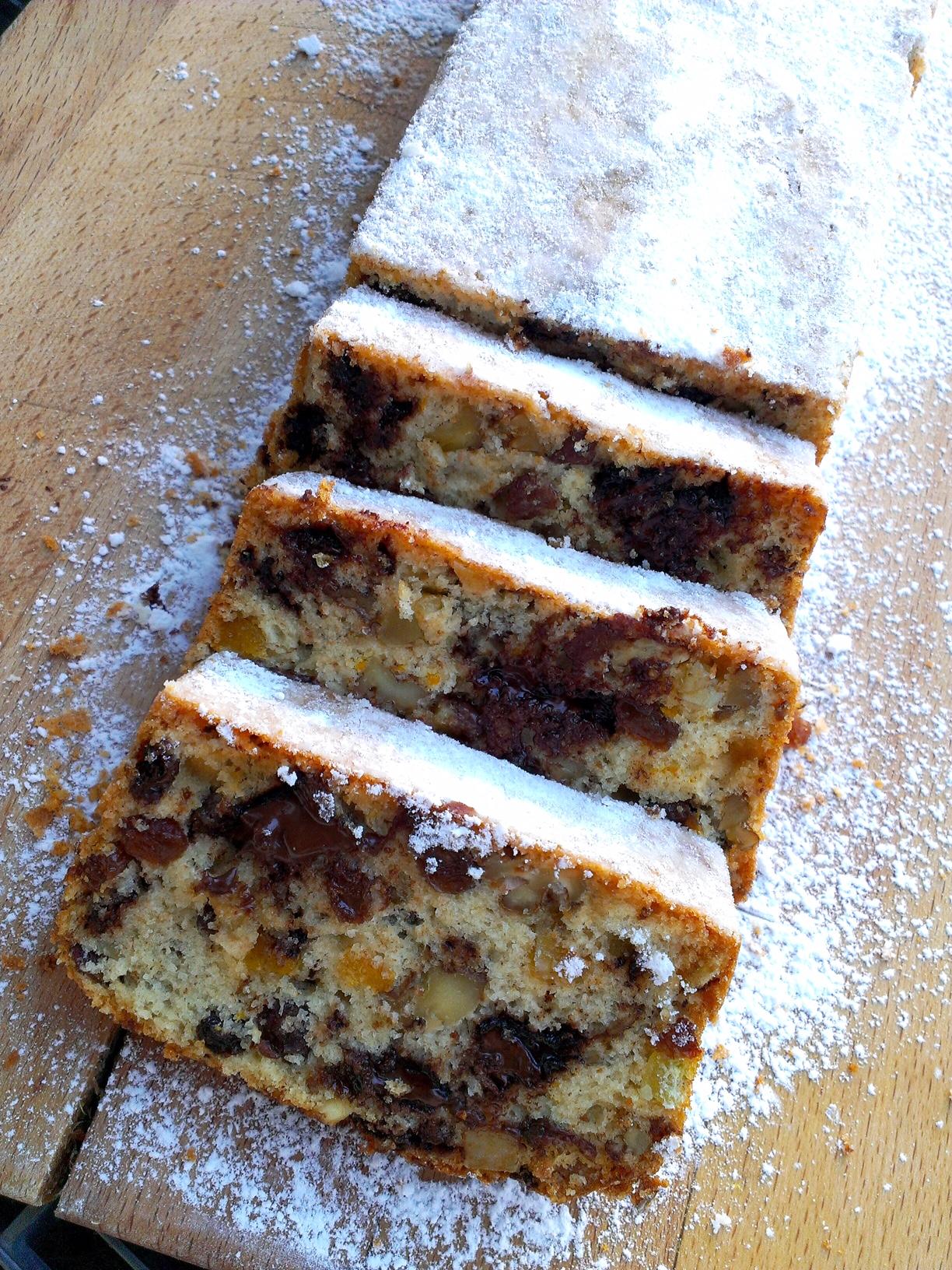 Vánoční chlebíček z přebytečných bílků