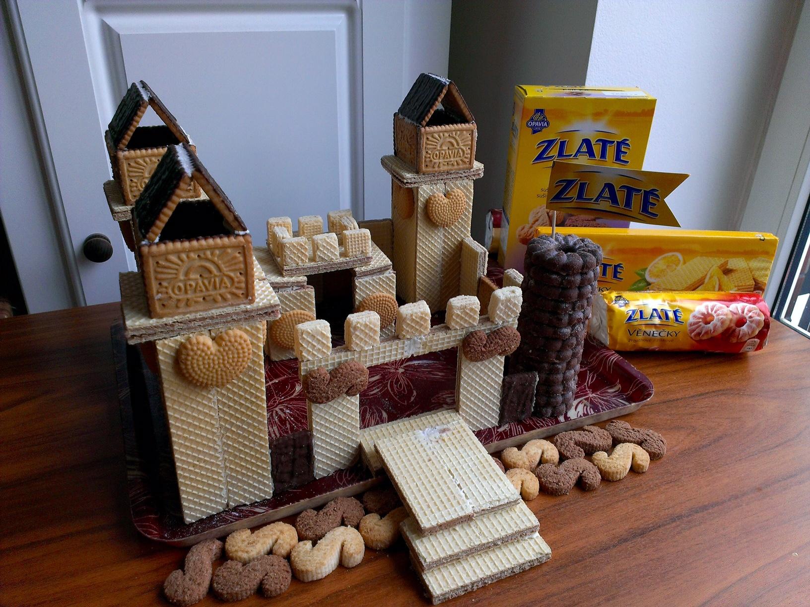 Sušenkový hrad